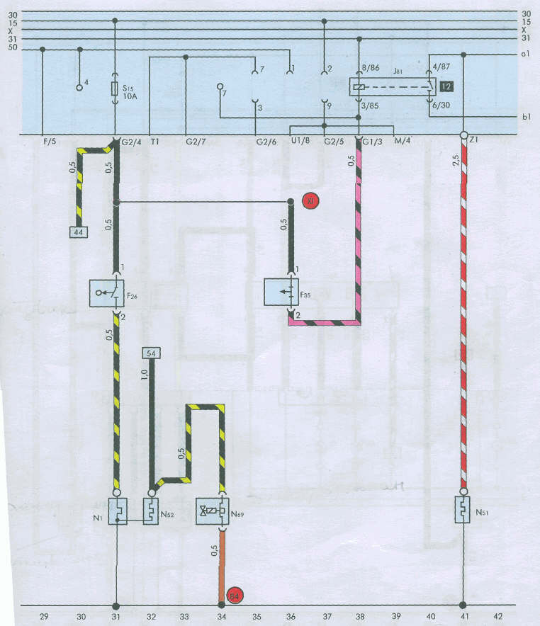 М 2141 электрическая схема Схема электрическая м 2141 электросхема ваз 21150 тренажер чертеж способы задания...